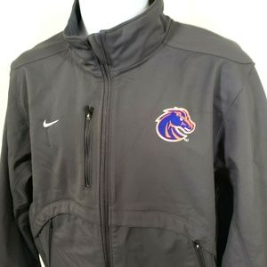 Nike Coaches Jacket L Large Heavy Polyester Field
